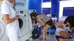 Bezpłatne pranie nad polskim morzem! Ruszają Letnie Pralnie Samsung