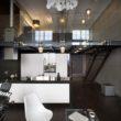Wysokie ściany, duże okna i otwarte przestrzenie